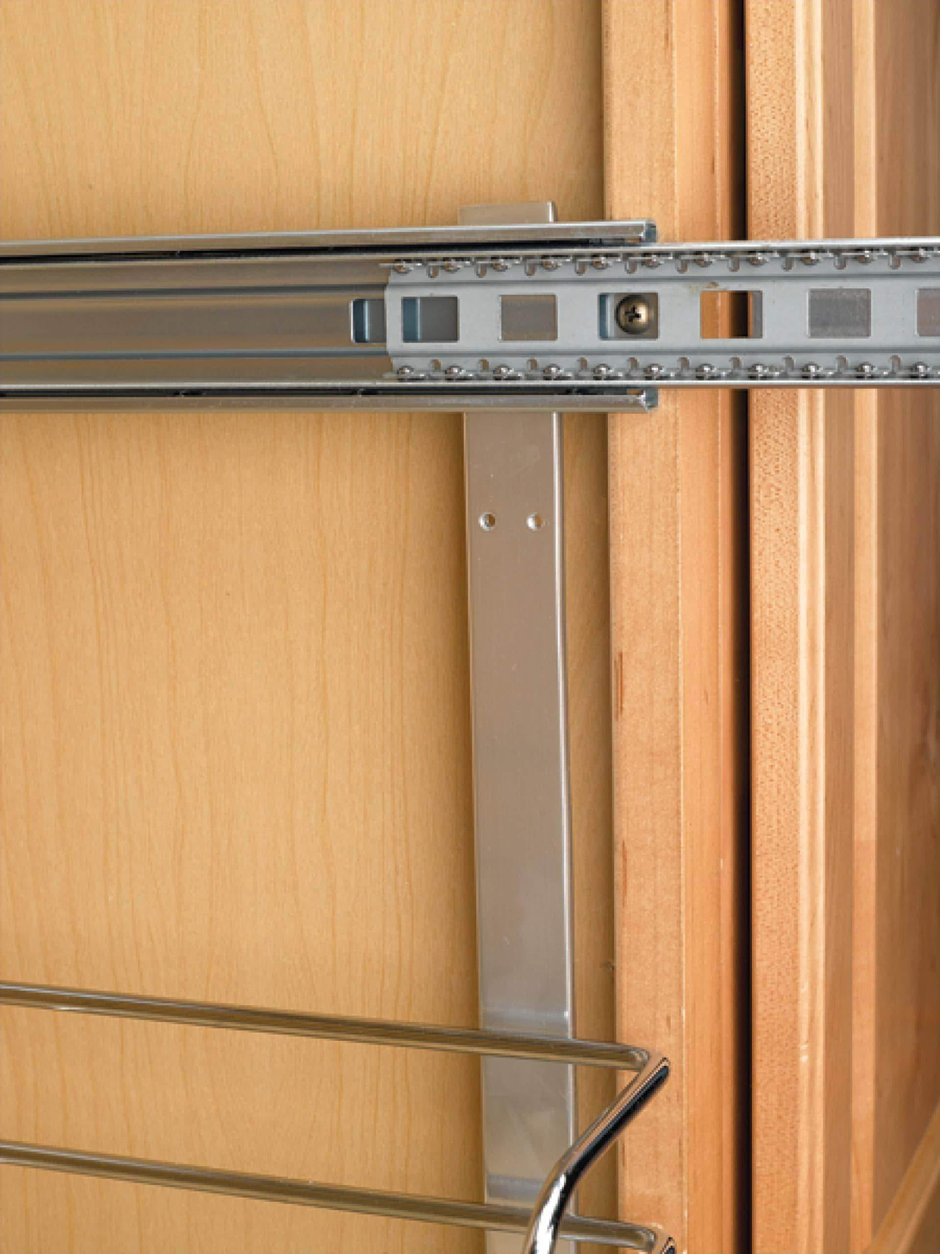 Try rev a shelf 5wb2 1522 cr 15 in w x 22 in d base cabinet pull out chrome 2 tier wire basket