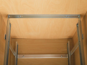 Amazon rev a shelf 5wb2 1522 cr 15 in w x 22 in d base cabinet pull out chrome 2 tier wire basket