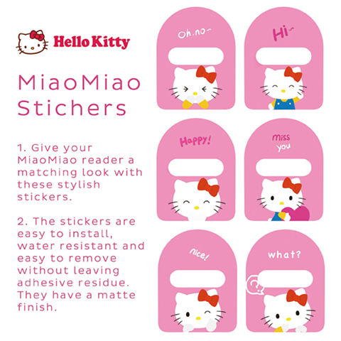MiaoMiao1 STICKERS(6 in 1)