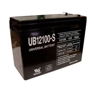 12V 10ah Replacement Battery - JustMobilityScooters.com