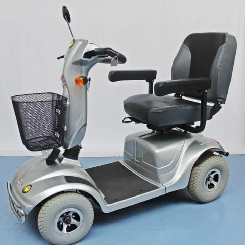 CTM HS-740 Heavy Duty 4-Wheel Mobility Scooter - JustMobilityScooters.com