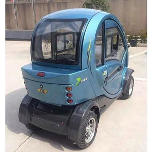 Green Transporter Q Pod 4 Wheel Electric Mobility Scooter