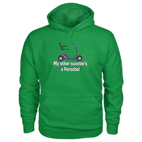 My Other Scooter's A Porsche Hoodie - JustMobilityScooters.com