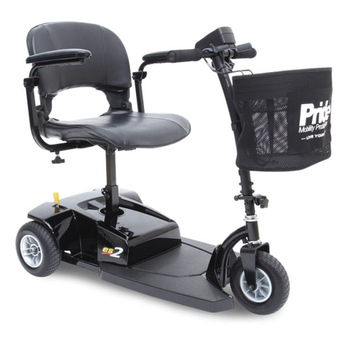 Pride Mobility Go-Go ES2 3-Wheel Travel Mobility Scooter - JustMobilityScooters.com