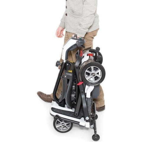 Pride Mobility Go-Go Folding 4-Wheel Travel Mobility Scooter - JustMobilityScooters.com
