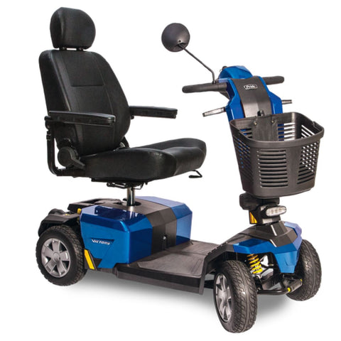 Pride Mobility Victory 10 LX with CTS Suspension Mobility Scooter - JustMobilityScooters.com