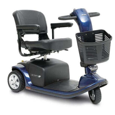 Pride Mobility Victory 9 3-Wheel Mobility Scooter - JustMobilityScooters.com