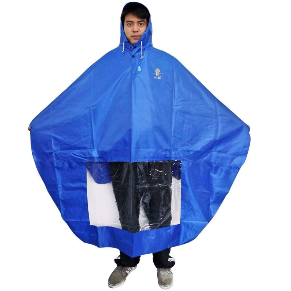 Rain Cape Mobility Scooter Cover - JustMobilityScooters.com