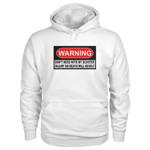 Warning Hoodie - JustMobilityScooters.com