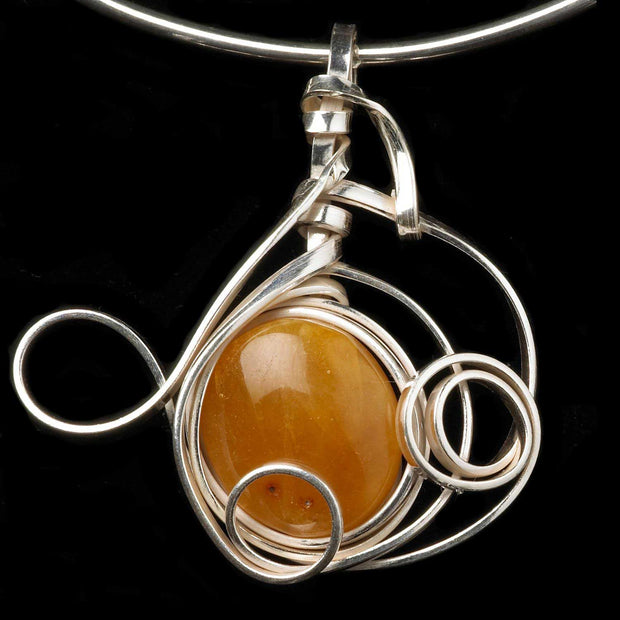 Apollo Butterscotch milky amber pendant