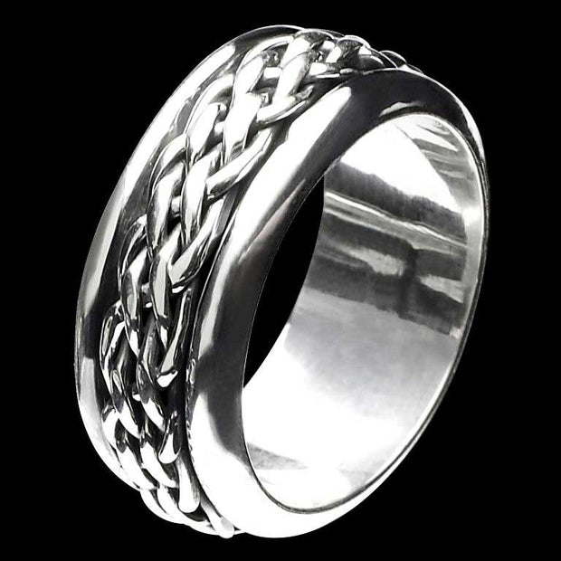 Artemis chunky silver ring