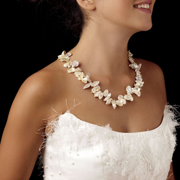Sabrina freshwater wedding pearls