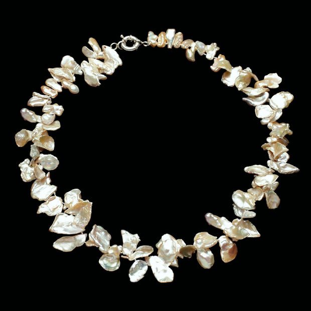 Sabrina Keshi Pearl Necklace