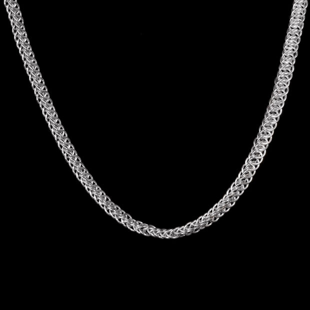 Thalia Silver Necklace