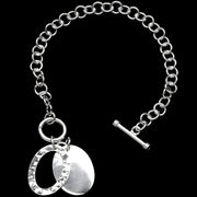 Thebe Silver Charm Bracelet