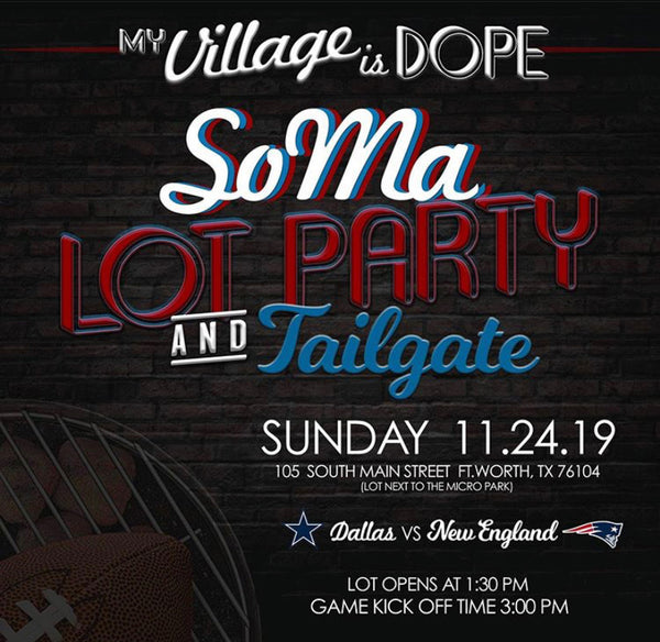 SoMa Lot Party and Tailgate