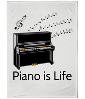"""Piano is Life"" - Tea Towel"