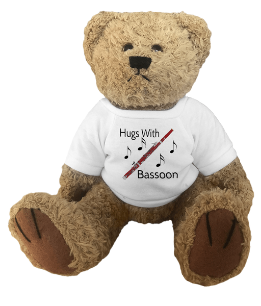 Hugs With Bassoon - Teddy Bear