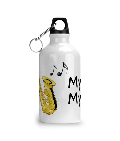 My Sax My Life - Aluminium Sports Hot/Cold Drinks Bottle