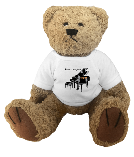 Piano is my Forte - Teddy Bear