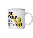 EAT SLEEP SAX REPEAT - Ceramic Mug