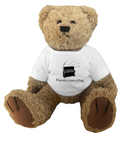 Pianists Love A Hug - Teddy Bear