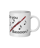 """Do You Bassoon?"" - Ceramic Mug"