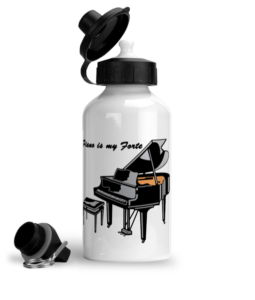 Piano is my Forte - Aluminium Sports Hot/Cold Drinks Bottle