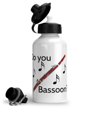 """Do You Bassoon?"" - Aluminium Sports Hot/Cold Drinks Bottle"