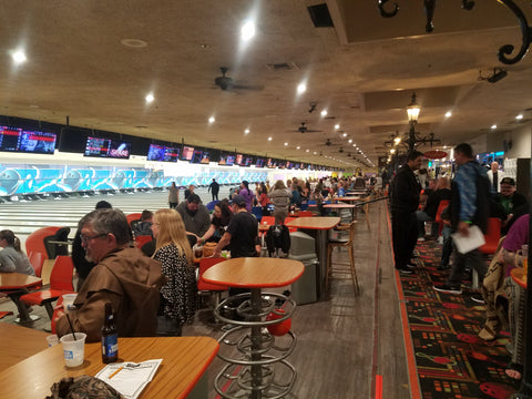 Bowling alley at Lebowskifest LA 2019