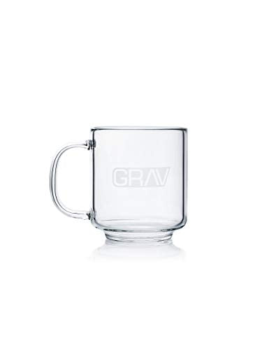 GRAV Coffee Mug 16 oz Borosilicate Glass