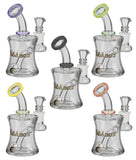 Glasslab 303 Oil Can UV Reactive Water Pipe