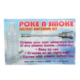 Poke N Smoke Instant Portable Waterpipe Kit