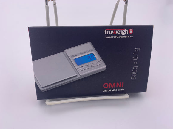 Truweigh Omni Digital Pocket Scale - 500g capacity