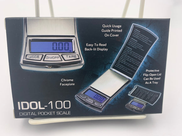 Idol-100 Digital Pocket Scale - 100g capacity