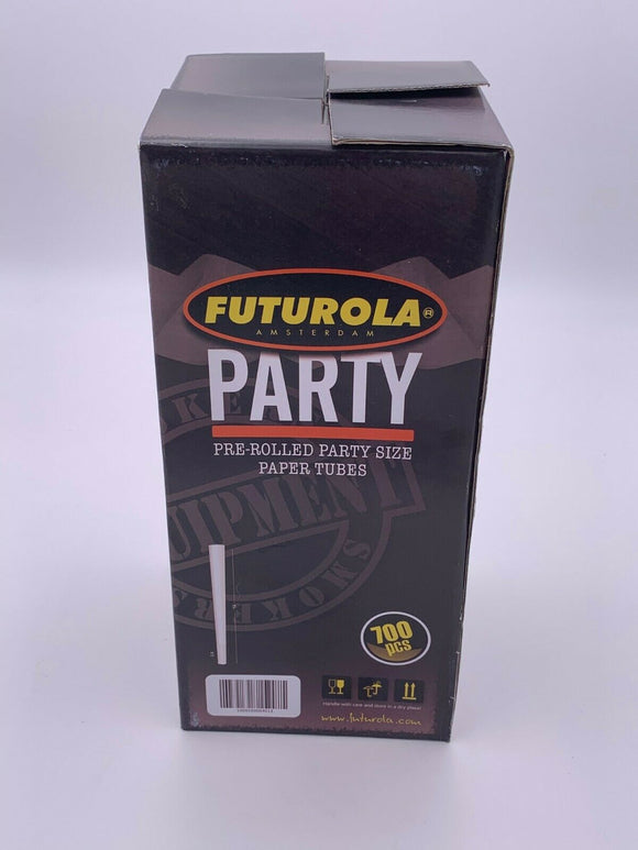 Futurola Pre Rolled Cones Party Size 26mm filter tip 140mm cone HUGE - White