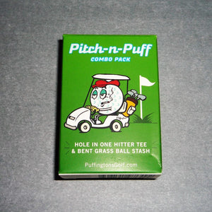 Pitch N Puff Golf Themed Tobacco Taster