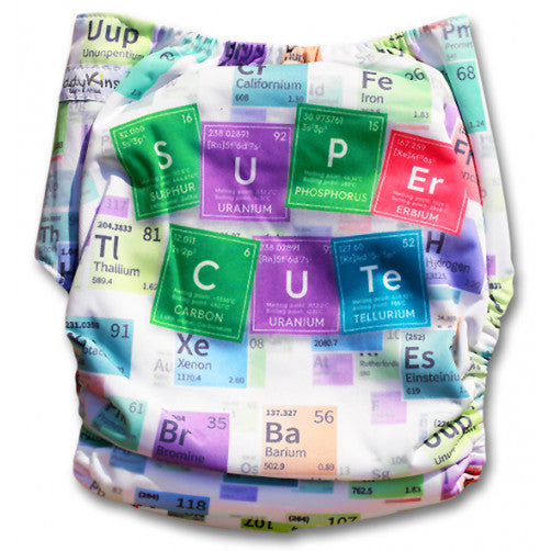 Cute Periodic Table Position Print Pocket