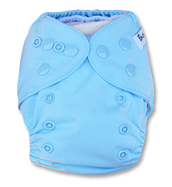 Light Blue Newborn Cover