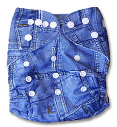Denim Newborn Cover