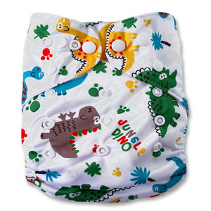 Jungle Dinos Newborn Cover