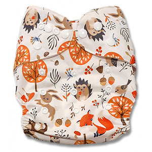 Hedgehogs Bunnies Foxes Owls Newborn Cover