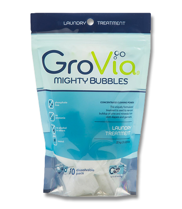 GroVia Mighty Bubbles