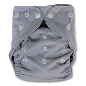 Grey Newborn Double Gusset Cover