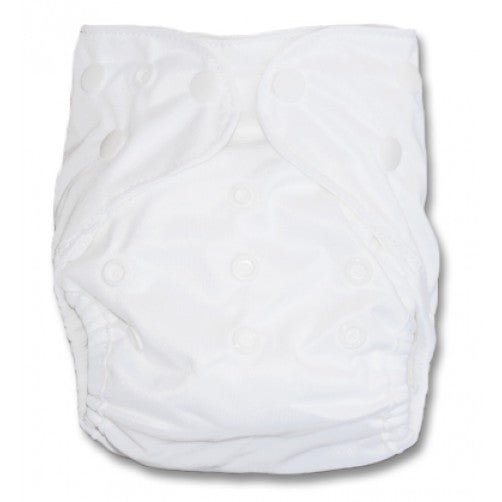 White Newborn Double Gusset Cover