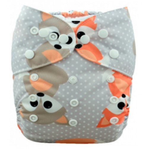 Baby Foxes Newborn Double Gusset Cover