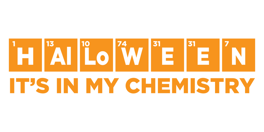Halloween Chemistry Decal