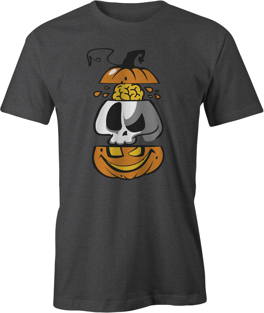 Dissected Pumpkin Head - Haunt Shirts