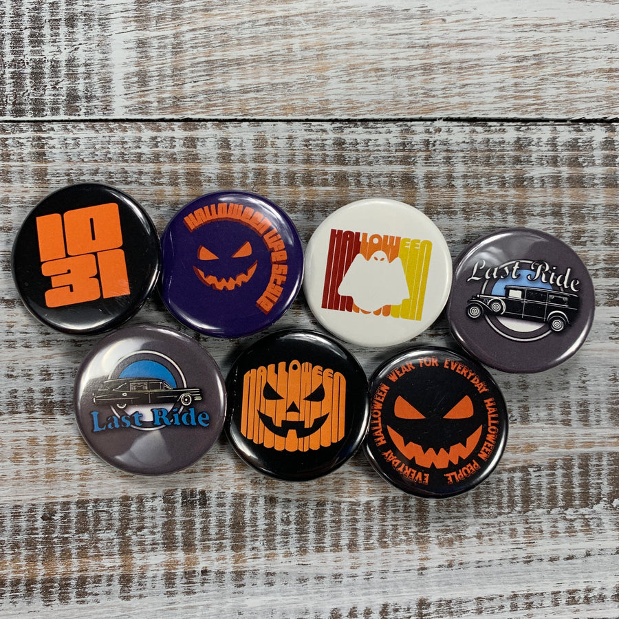 Halloween Button Pack - Haunt Shirts