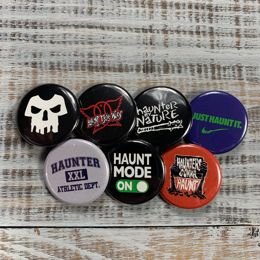 Haunter Button Pack - Haunt Shirts